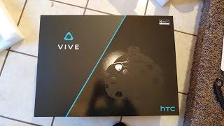 HTC Vive Quick Unboxing