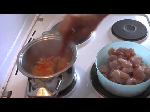 Простой рецепт куриной грудки (как я это готовлю).