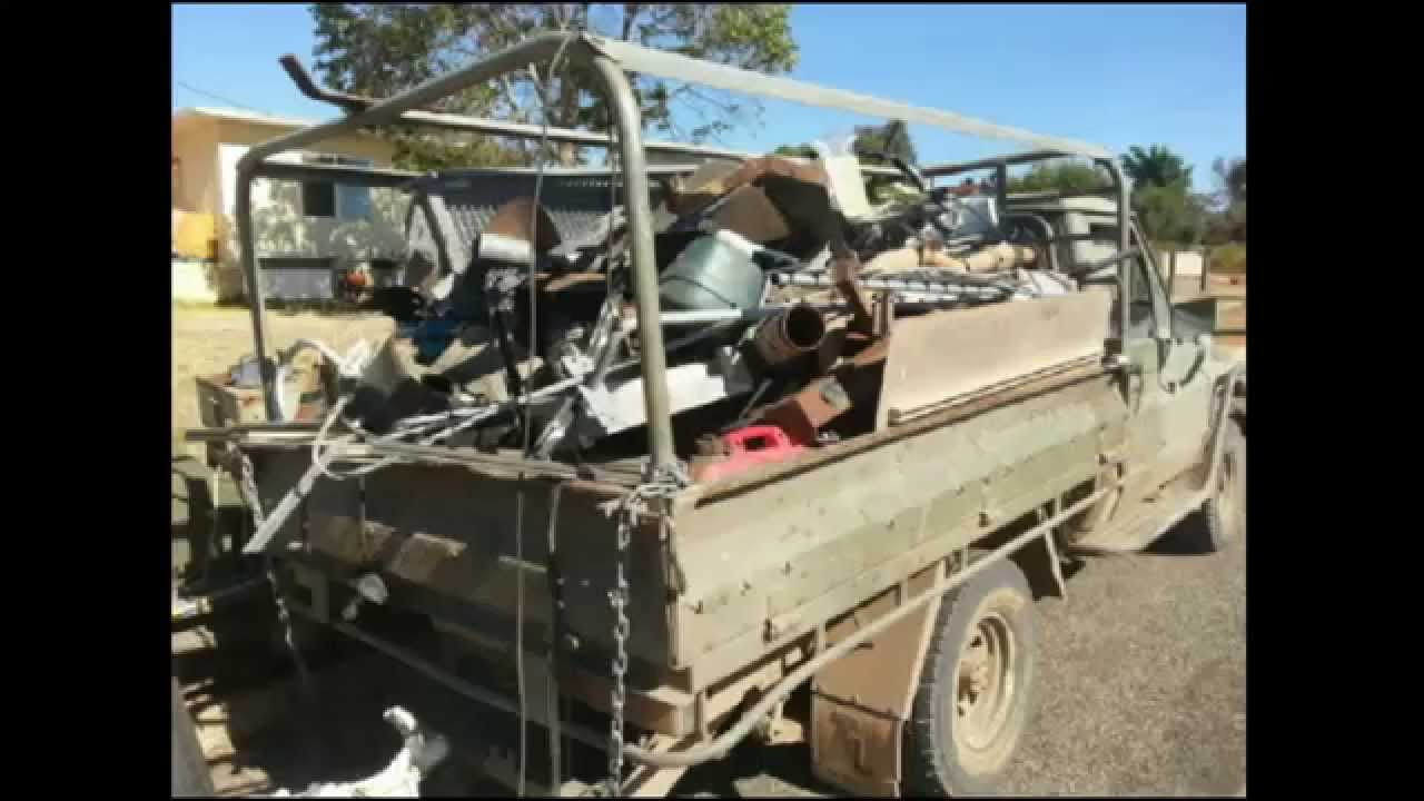 Awesome Rural Aussie Scrap Metal Roadtrip - Aluminum Galore ...