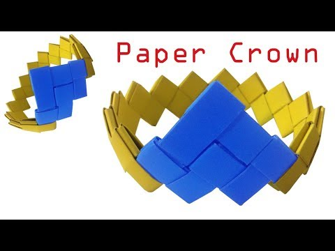 How To Make Paper Crown / Paper Crown Diy / Easy Paper Crown / How To Make Mukut.....