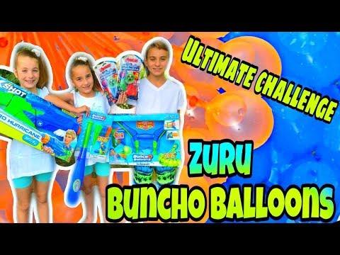 BunchO Balloons By Zuru, ULTIMATE WATER BALLOON CHALLENGE