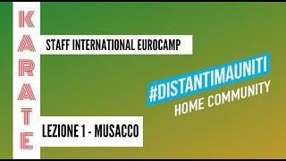 Karate - International EuroCamp - Lezione1 Musacco