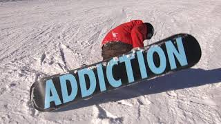 Snowboard - How To Sideslip On A Snowboard