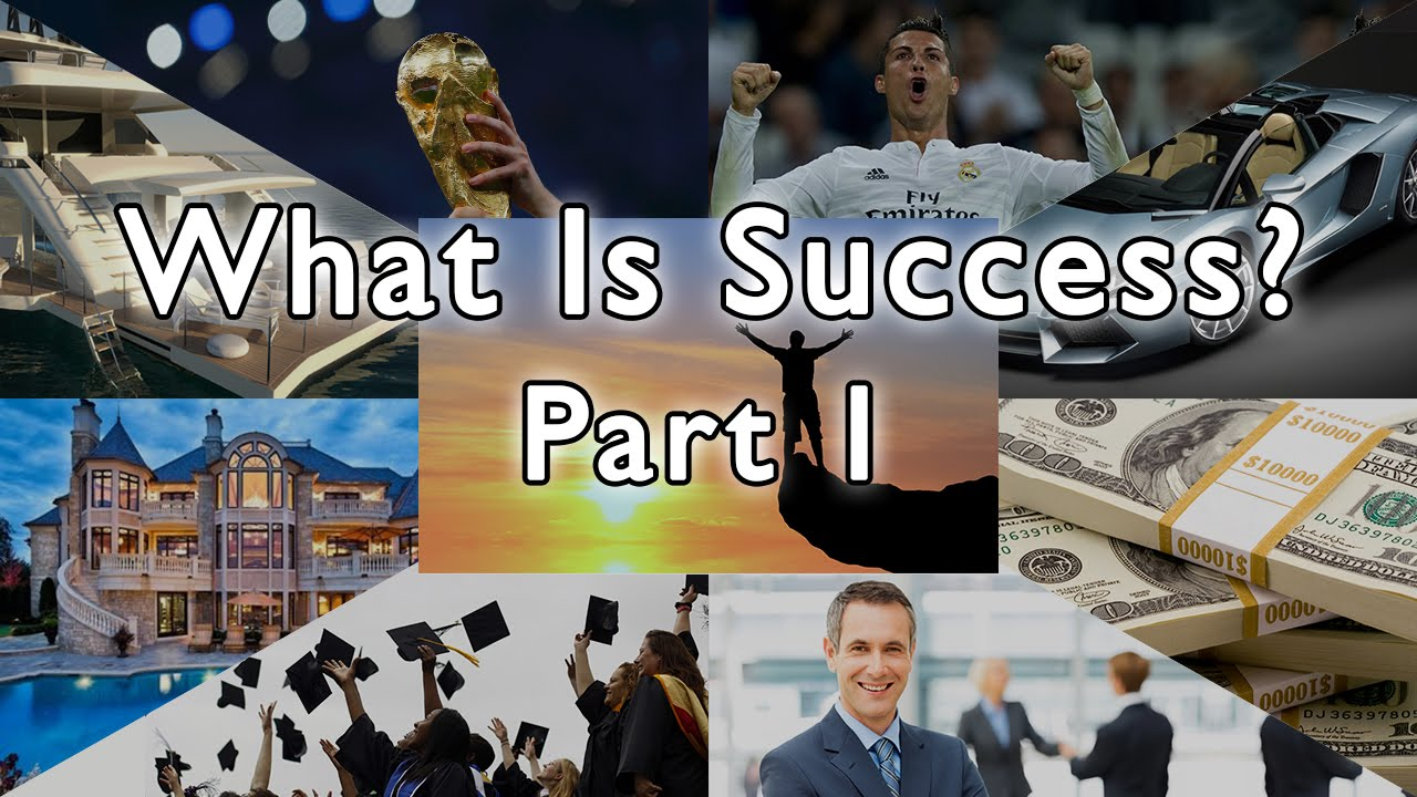 what is sucess As a kid, i was always told that success was measured quite clearly by the amount of money one makes at least that was the significant barometer, beca.