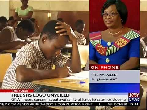 Free SHS Logo Unveiled - The Pulse on JoyNews (31-8-17)