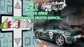 NEED FOR SPEED PRO STREET PS2 #1 começo difícil.