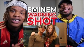 EMINEM - THE WARNING (NICK & MARIAH SHOTS) The Reason Em Won't Respond #Flashback
