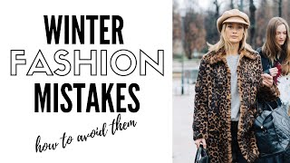 10 Winter Fashion Mistakes & How To Avoid Them