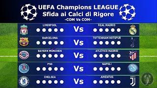 Download lagu PES 2020 • UEFA Champions League (Sfida ai Calci di Rigore) • Barca/Napoli/Juve/PSG...