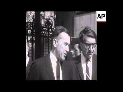 SYND 03/04/1969 MUTUAL ACCUSATIONS OF AGRESSION AT PARIS PEACE TALKS