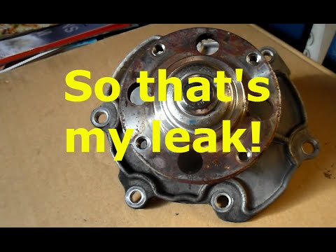 How To Replace The Water Pump On A 2006 Cadillac Sts Youtube