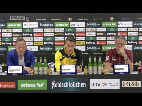 7. Spieltag | SGD - DSC | Pressekonferenz vor dem Spiel