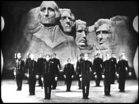 1953 Crack Drill Squad on the Ed Sullivan Show