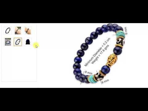 Wealth Prosperity Good Luck Buddha Beads Yoga unisex bracelet