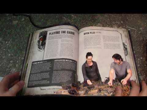 Read-Along: Warhammer 40k - 8th EDITION RULEBOOK!!