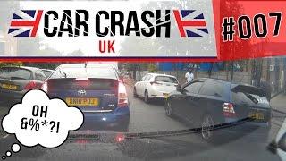 [UK] Bad Driving & Car Crash Compilation #007 JULY 2016