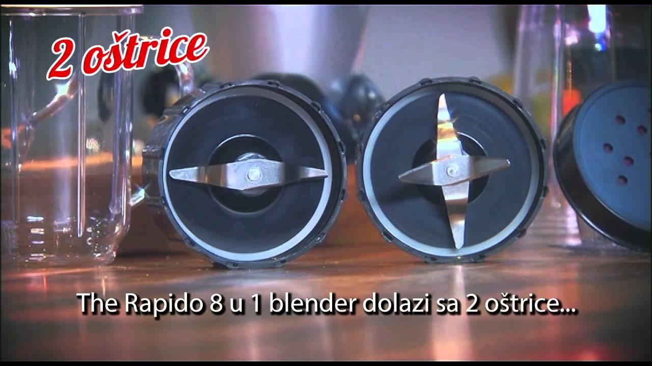 Rapido 8 U 1 Blender Youtube