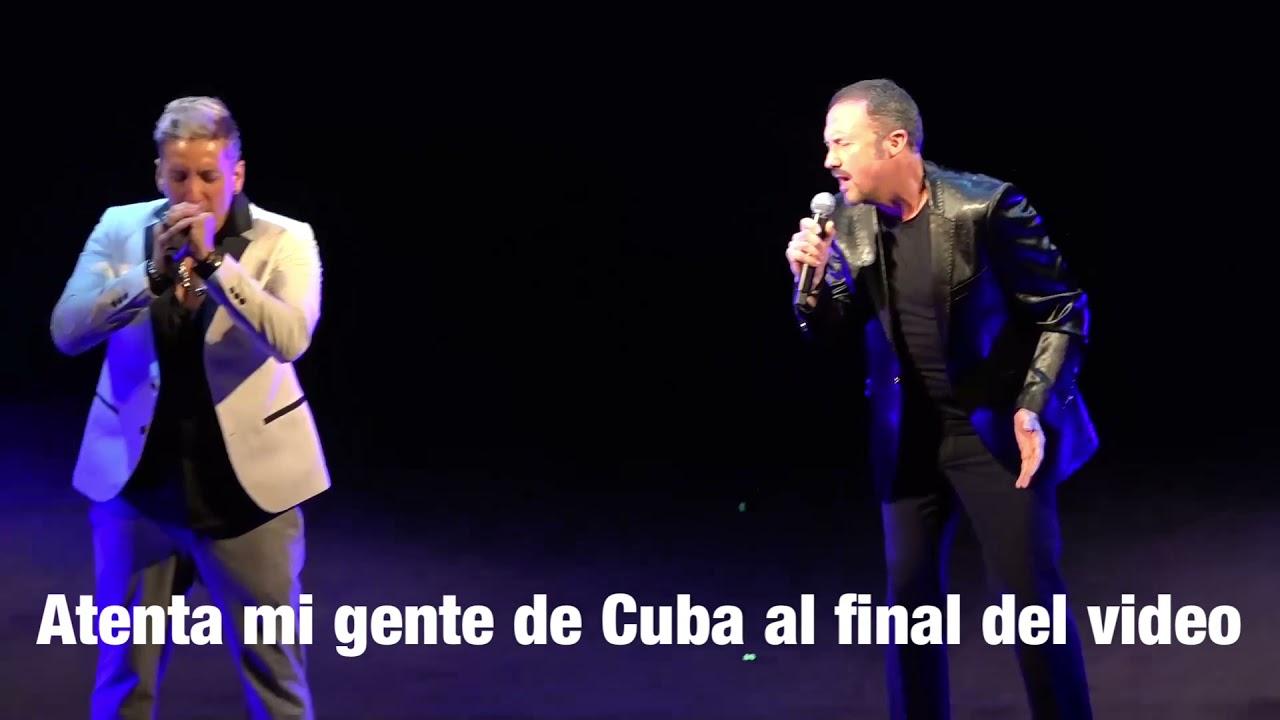 Dedico mi Premio Latino hoy a mi Cuba 🇨🇺