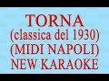 Torna - Midi Napoli - New Karaoke - Antologia della canzone napoletana