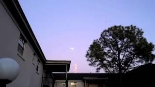 Запуск ракеты во Флориде.