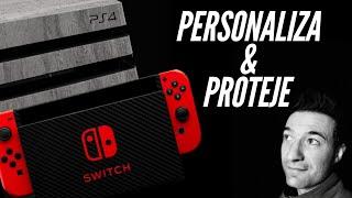PERSONALIZA Y PROTEGE tu PS4 PRO SWITCH IPHONE Y MUCHO MAS
