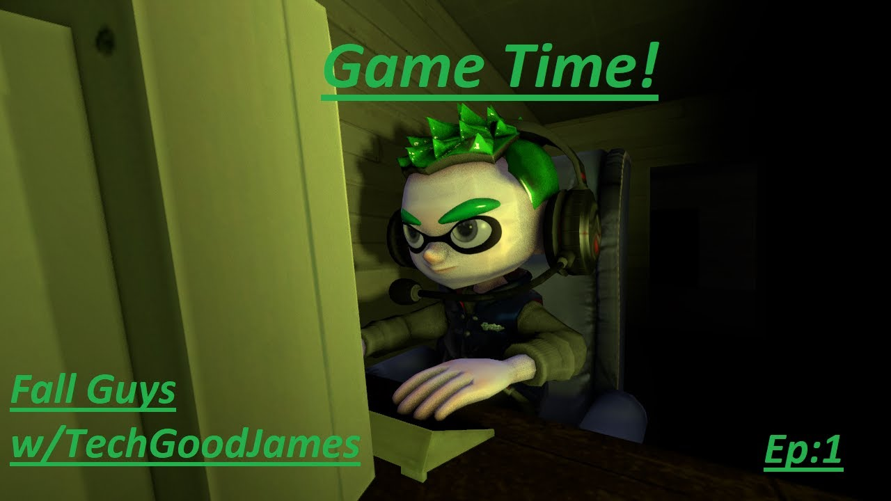 Game Time!(Osvaldo Brito) Fall Guys w/TechGoodJames Episode 1: GO JAMES, GO!!
