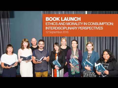 Book Launch: Ethics and Morality in Consumption