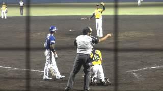 香川OG、右翼手の長安駿作#2に代わり小栗健太#7。 投手は篠原慎平#11 ...