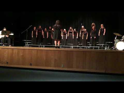 A La Nanita Nana arr. Eddleman - Pinellas Park High School Adv.Women Choir