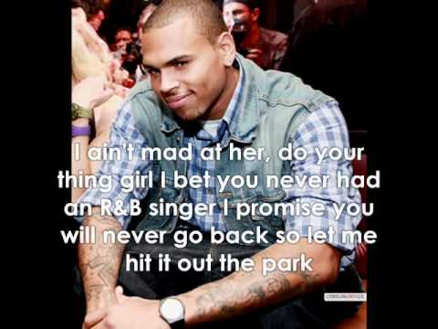 Chris Brown - She Can Get It W/Lyrics