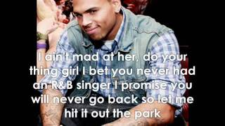 Chris Brown - She Can Get It W/Lyrics