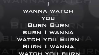 Papa Roach - Burn Lyrics
