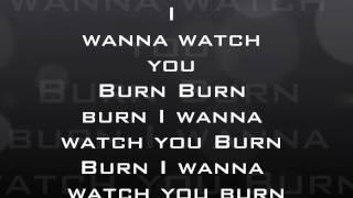Papa Roach - Burn Lyrics