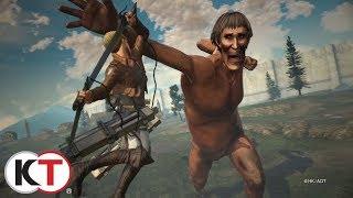 Attack on Titan 2 - Combat Trailer