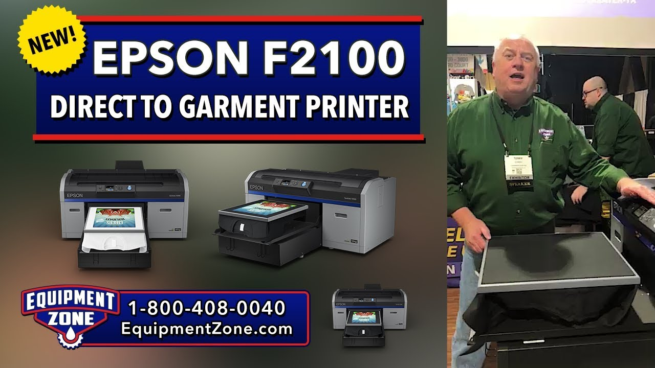 Epson SureColor F2100 Direct To Garment Printer - New