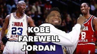 Jordan Is Talking CRAZY! Kobe Bryant vs Michael Jordan Highlights (2003 All-Star Game)