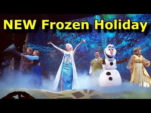 2017 Holiday Changes - For the First Time in Forever: A Frozen Sing-Along Celebration