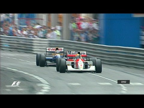 Your Favourite Monaco Grand Prix - 1992 Senna v Mansell