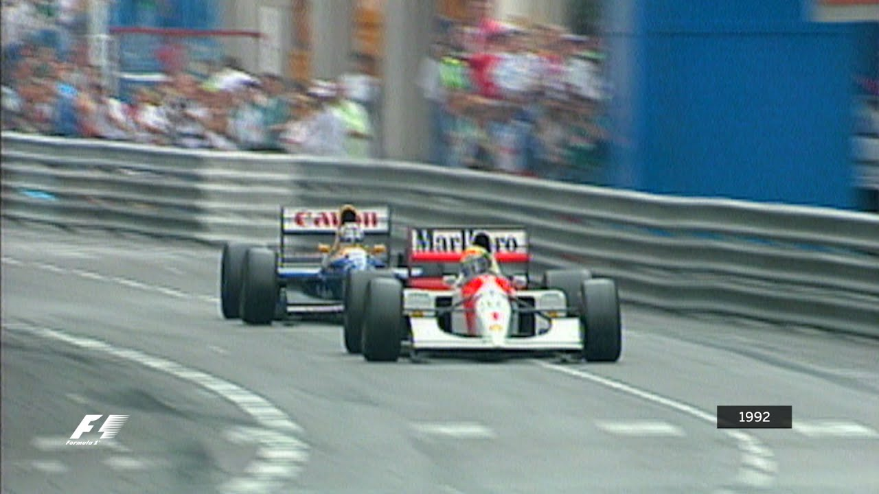 Your Favourite Monaco Grand Prix - 1992 Senna v Mansell - YouTube