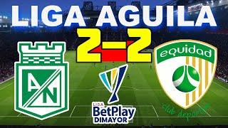 Atlético Nacional vs La Equidad 2-2   Liga Aguila 2021 - 02/05/21   Partido Completo HD