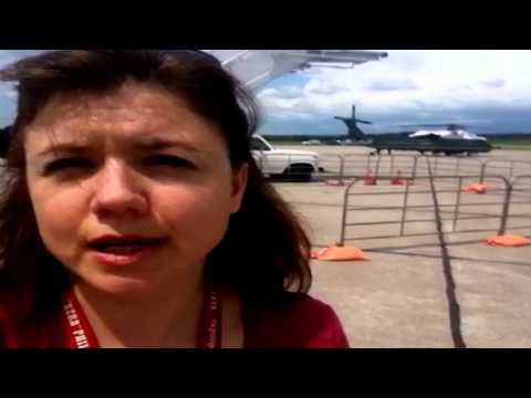 Reporting From Griffiss - Air Force One