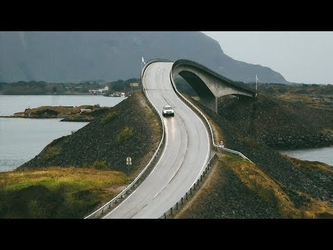 CRAZY Atlantic Ocean Road in Norway + FAIRYTALE Alesund City!