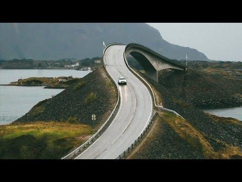 CRAZY Atlantic Ocean Road in Norway + FAIRYTALE Alesund City!
