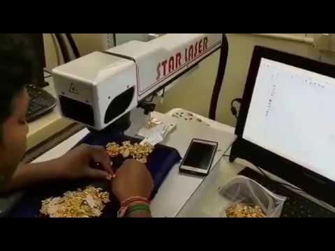 Hallmarking Laser Machine video