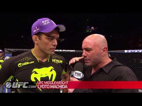 Fight Night Manchester: Lyoto Machida Octagon Interview