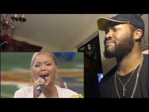 Mariah Carey vs Beyoncé  The StarSpangled Banner!  REACTION