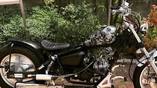 マグナ50カブ90ヘッドに交換 スパトラサスファン 検索動画 8