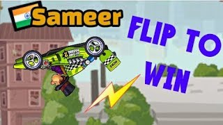 Hill Climb Racing 2 FLIP TO WIN RACE