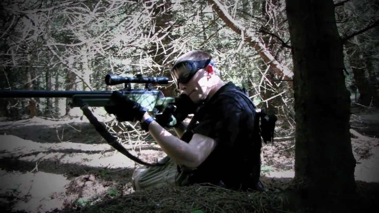 L96 Airsoft Sniper action Section8 Scotland