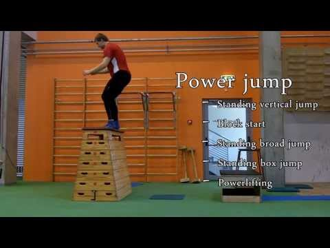 How to train Power jump and Reactive jump